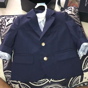 Janie and jack blazer size 3 to 6 months